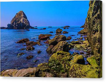 Sonoma Coast Canvas Print - Rocky Picific Coast Waters by Garry Gay