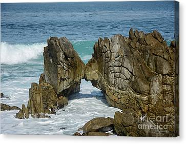 Canvas Print featuring the photograph Rocky Romance by Susan Wiedmann