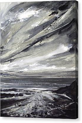 Canvas Print - Rocky Shore by Keran Sunaski Gilmore