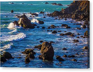 Sonoma Coast Canvas Print - Rocky Sonoma Coast by Garry Gay