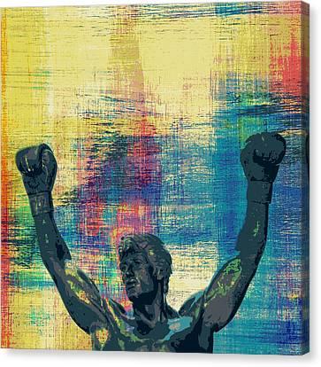 Rocky V1 Canvas Print