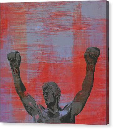 Rocky V2 Canvas Print