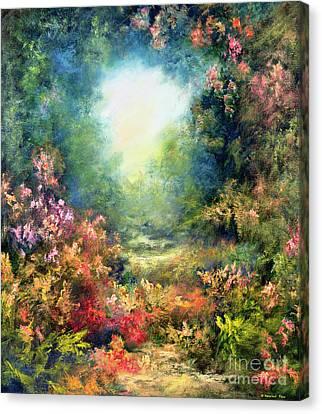 Rococo Delight Canvas Print by Hannibal Mane