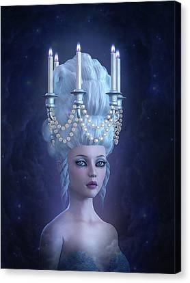 Rococo Enlightenment Canvas Print by Britta Glodde