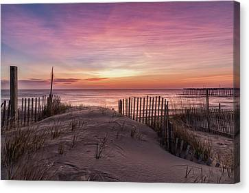 Rodanthe Sunrise Canvas Print