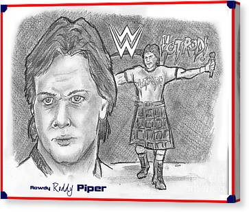 Roddy Piper Canvas Print