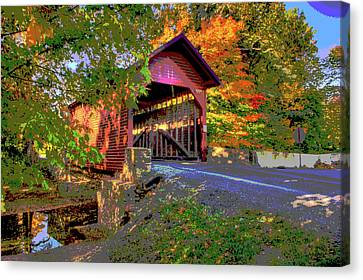 Roddy Road Covered Bridge Canvas Print