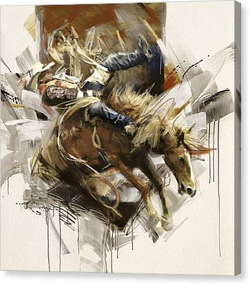 Rodeo 10 Canvas Print