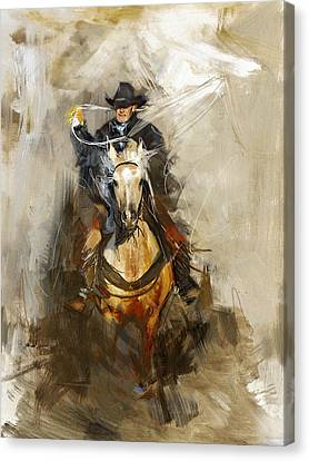 Rodeo 12 Canvas Print