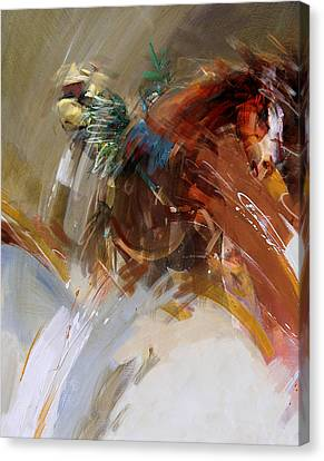 Rodeo 15 Canvas Print