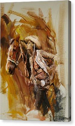 Rodeo 21 Canvas Print
