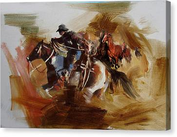 Rodeo 25 Canvas Print