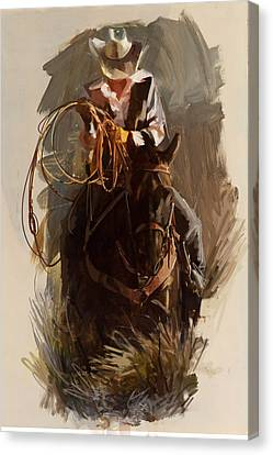 Rodeo 29 Canvas Print by Maryam Mughal