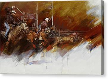 Rodeo 36 Canvas Print