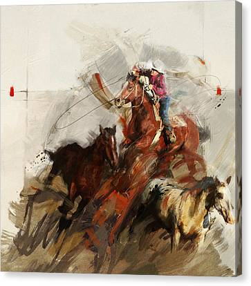 Rodeo 37 Canvas Print