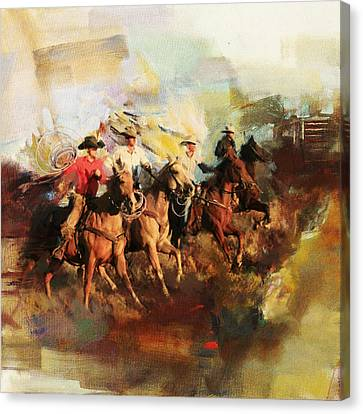 Rodeo 39 Canvas Print