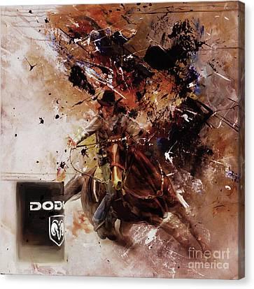 Barn Jq Licensing Canvas Print - Rodeo 45h by Gull G