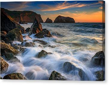 Rodeo Beach Canvas Print by Rick Berk