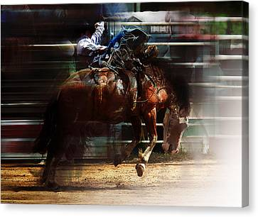 Rodeo Days Canvas Print by Mark Courage