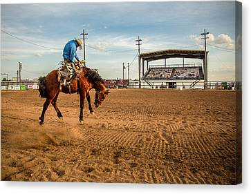 Rodeo Days Canvas Print by Todd Klassy