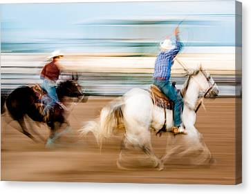 Rodeo Dreams Canvas Print by Todd Klassy
