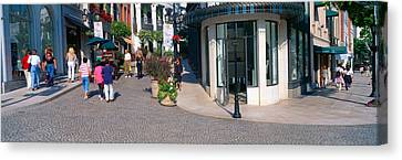 Rodeo Drive, Beverly Hills, California Canvas Print by Panoramic Images