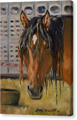 Rodeo Horse Canvas Print