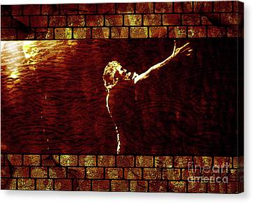 Rodger Waters The Wall Canvas Print by Robert Ball