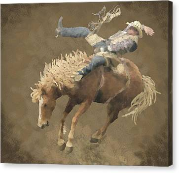 Rodeo Rider Canvas Print
