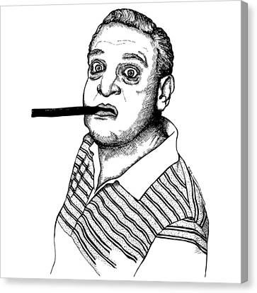 Rodney Dangerfield Canvas Print by Karl Addison