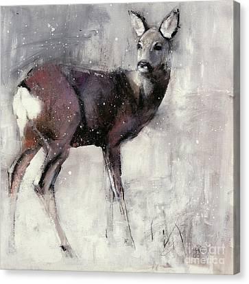 Roe Doe Canvas Print