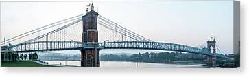 Roebling Bridge Canvas Print