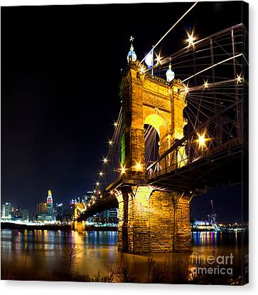 Roebling Brodge Canvas Print by Twenty Two North Photography