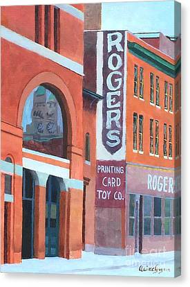 Rogers Canvas Print by Claire Gagnon