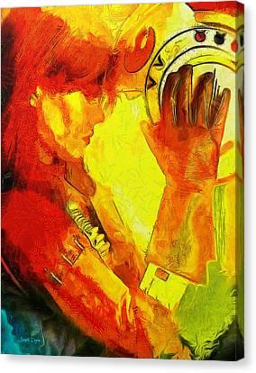 Rogue One Anthology - Da Canvas Print by Leonardo Digenio