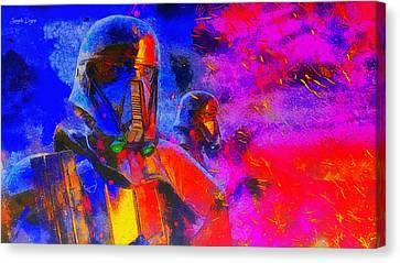Rogue One Blacktrooper - Da Canvas Print