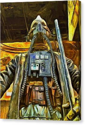 Rogue One Edrio Tubes - Da Canvas Print