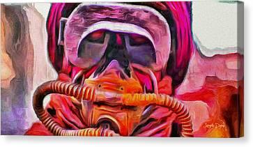 Rogue One Filtered - Pa Canvas Print by Leonardo Digenio