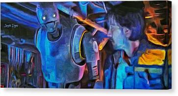 Rogue One Following - Pa Canvas Print by Leonardo Digenio