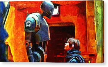 Rogue One I Will Not Kill You - Da Canvas Print