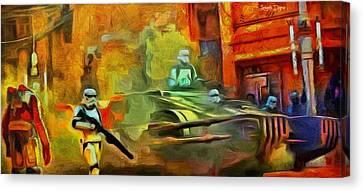 Rogue One Occupation - Da Canvas Print
