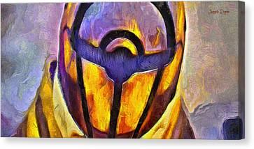 Rogue One Protected - Pa Canvas Print by Leonardo Digenio