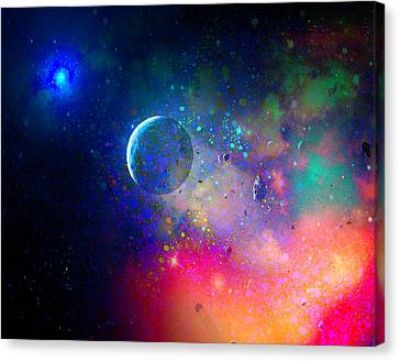 Rogue Planet Canvas Print