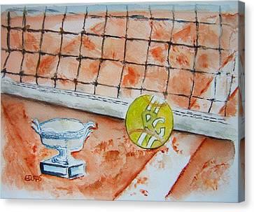 Roland Garros Canvas Print