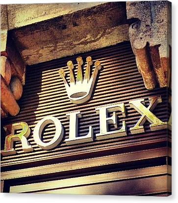 Classic Canvas Print - #rolex #watch #igdaily #android #ighub by Tommy Tjahjono