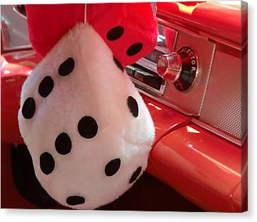 Roll Of The Dice Canvas Print by Richard Mansfield
