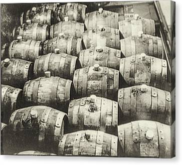 Roll Out The Barrel Canvas Print