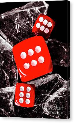 Roll Play Of Still Life Canvas Print