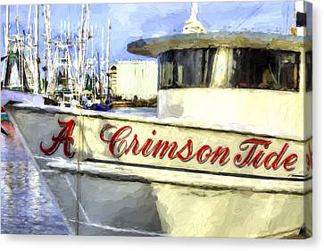 Roll Tide Roll Canvas Print
