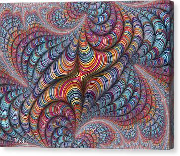 Rolled Blanket Bingo Canvas Print